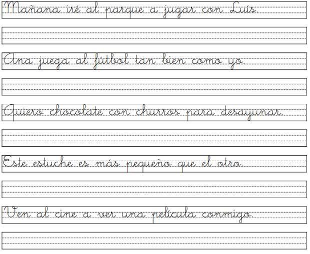 Caligrafia palmer para imprimir pdf imagui lectoescritura pinterest handwriting - Como mejorar la caligrafia ...