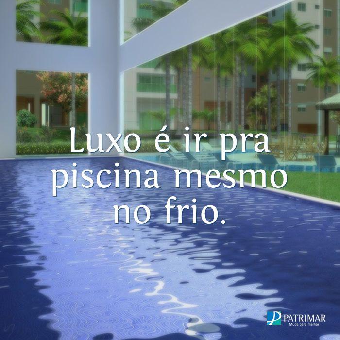 No Acqua Galleria Condomínio Resort você tem piscina coberta climatizada e muito mais, confira: http://bit.ly/1Mdpgxk #VivaBem #LazerEmCasa #Campinas