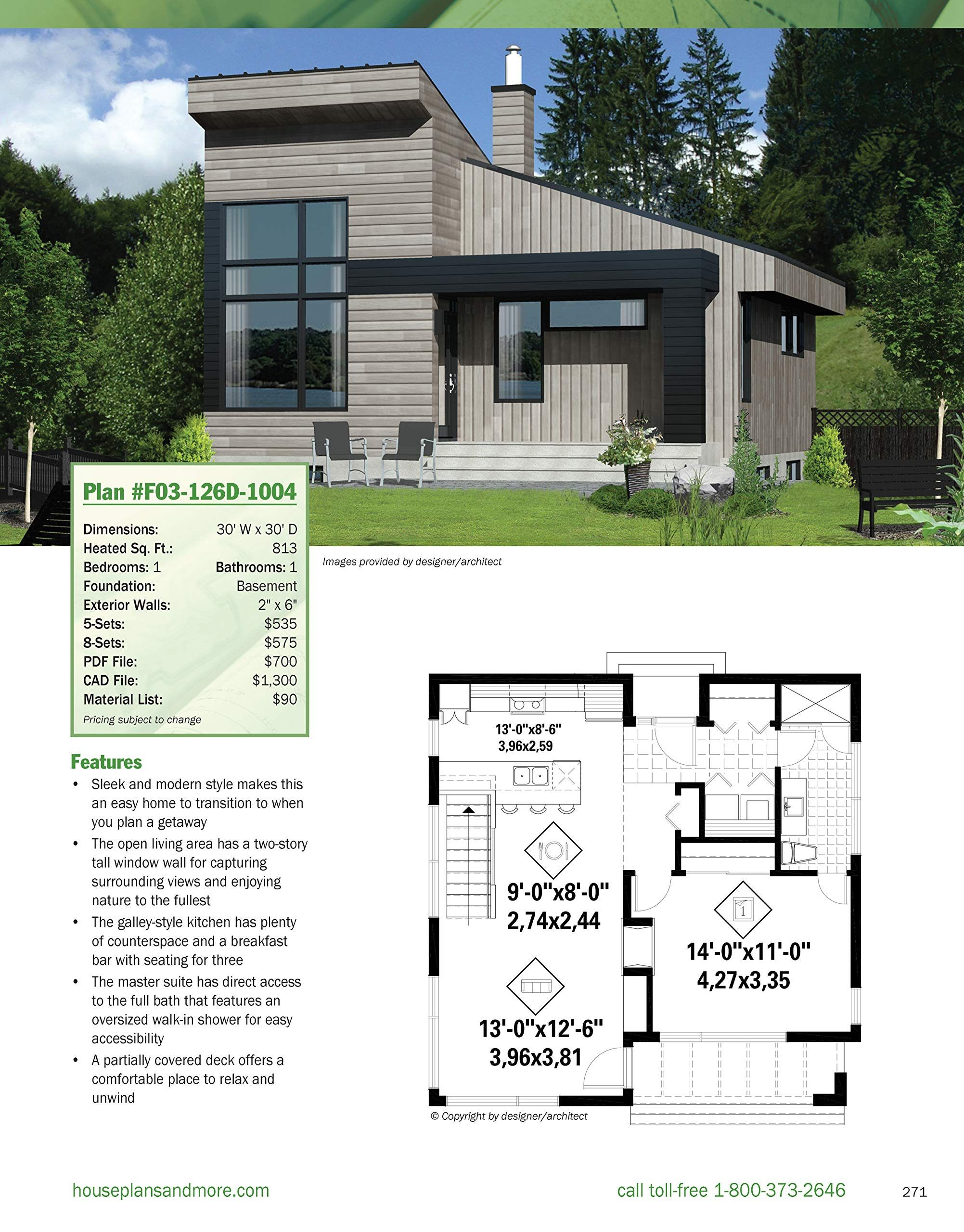 Contemporary House Plans Under 1000 Sq Ft 2020 Contemporary House Plans Small House Design Cottage Style House Plans