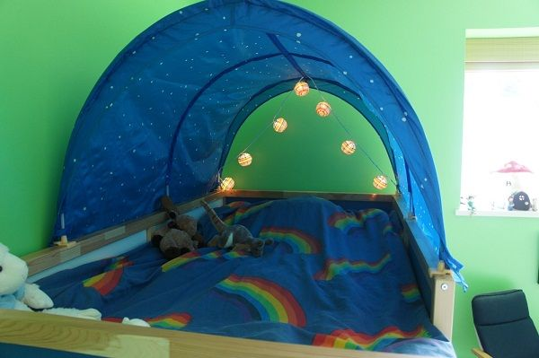 Canopy Over Bunk Bed For Boys For The Kids Pinterest