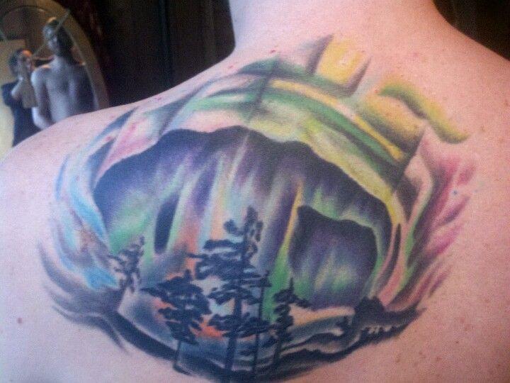 aurora borealis tattoos pinterest aurora borealis