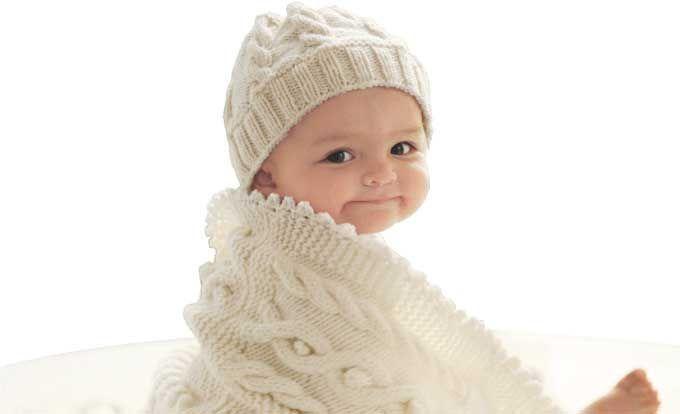 Photo of Strickanleitung für Babydecke und Mütze – Leben & erziehen #gestrickte babydec…