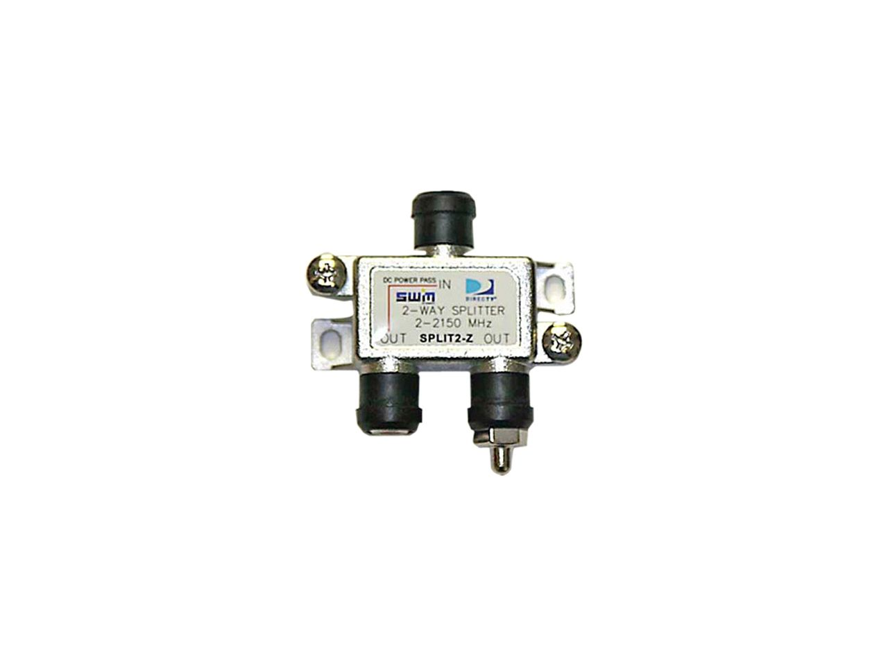 DIRECTV SPLIT2 SWM 2 Way Splitter 2-2150 Mhz 1 Port Power