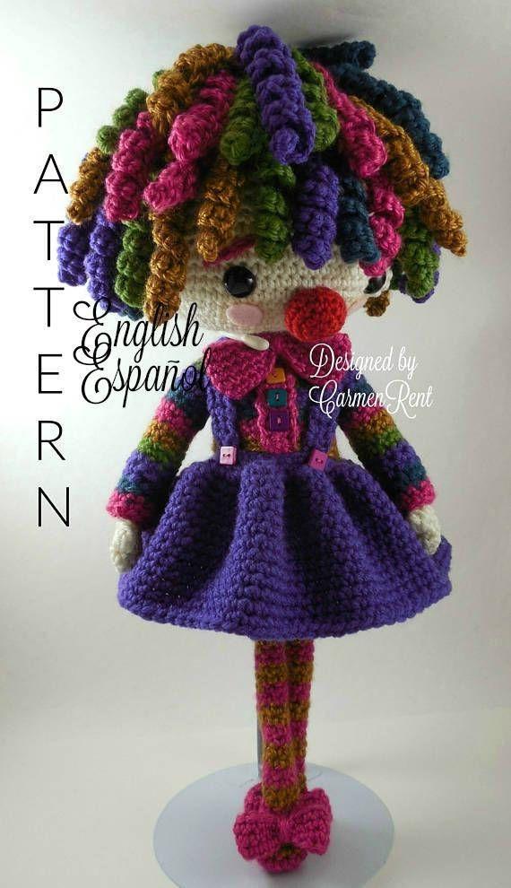 Sol  Amigurumi Doll Crochet Pattern PDF
