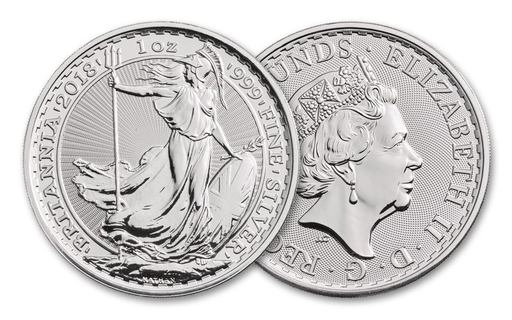 Silver At Melt 2018 U K Silver Britannia 1 Ounce Best Price On Ebay Coins Ebay Silver