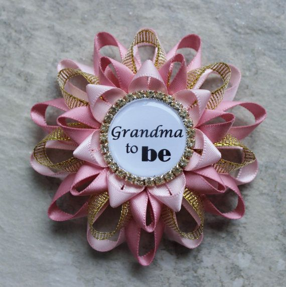 Pink Baby Shower Decorations Part - 47: Gold Baby Shower Decorations | Pink And Gold Baby Shower Decorations, New  Grandma Gift,