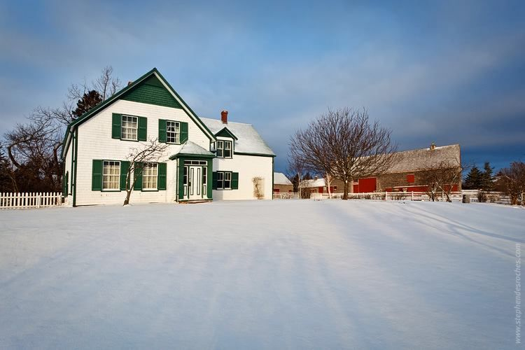 Green Gables In The Winter Time Green Gables Anne Of Green Gables Prince Edward Island