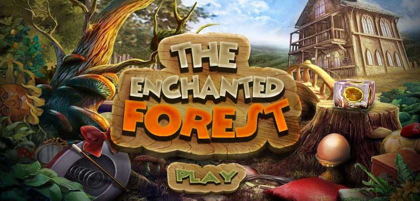 """You can play """"The Enchanted Forest"""" http//www.hidden4fun"""