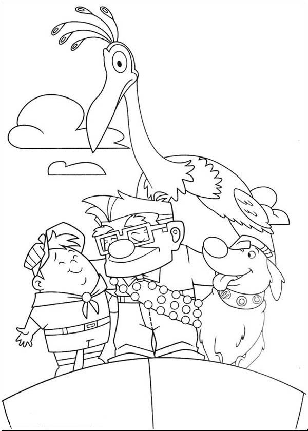 Disney Up Main Character Coloring Page Netart Coloring Pages Disney Coloring Pages Disney Coloring Sheets