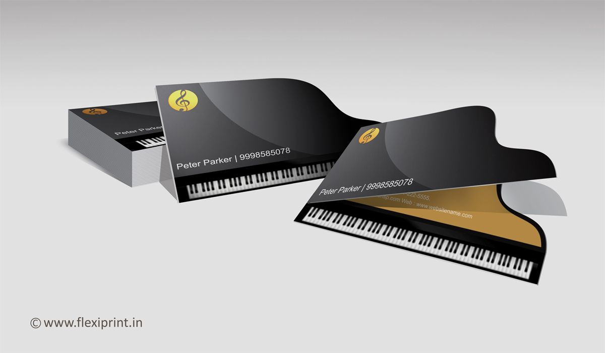 Piano teacher businesscard can we say it better piano shaped piano shaped business card see name contact number on top unfold to see address colourmoves