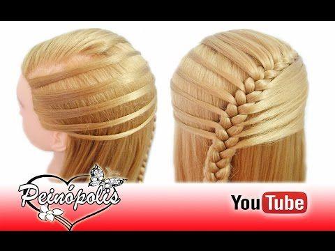 Peinados Faciles y Rapidos - Semirecogidos con Trenzas para Niña