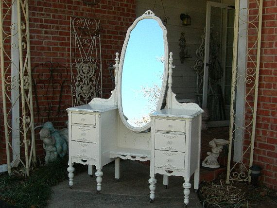 CUSTOM VANITY Order Your Own Antique Dresser Layaway Available - Layaway bedroom furniture