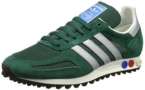 buy popular fe61f c4036 adidas la Trainer Og, Zapatillas Para Hombre, Verde (Collegiate Green Matte  Silver Collegiate Green), 42 2 3 EU
