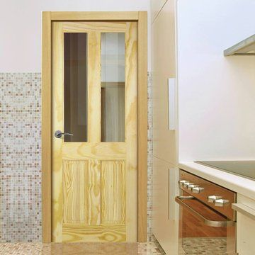 Richmond Pine Door With Safety Glass Options Pine Living Home Traditional Pine Doors