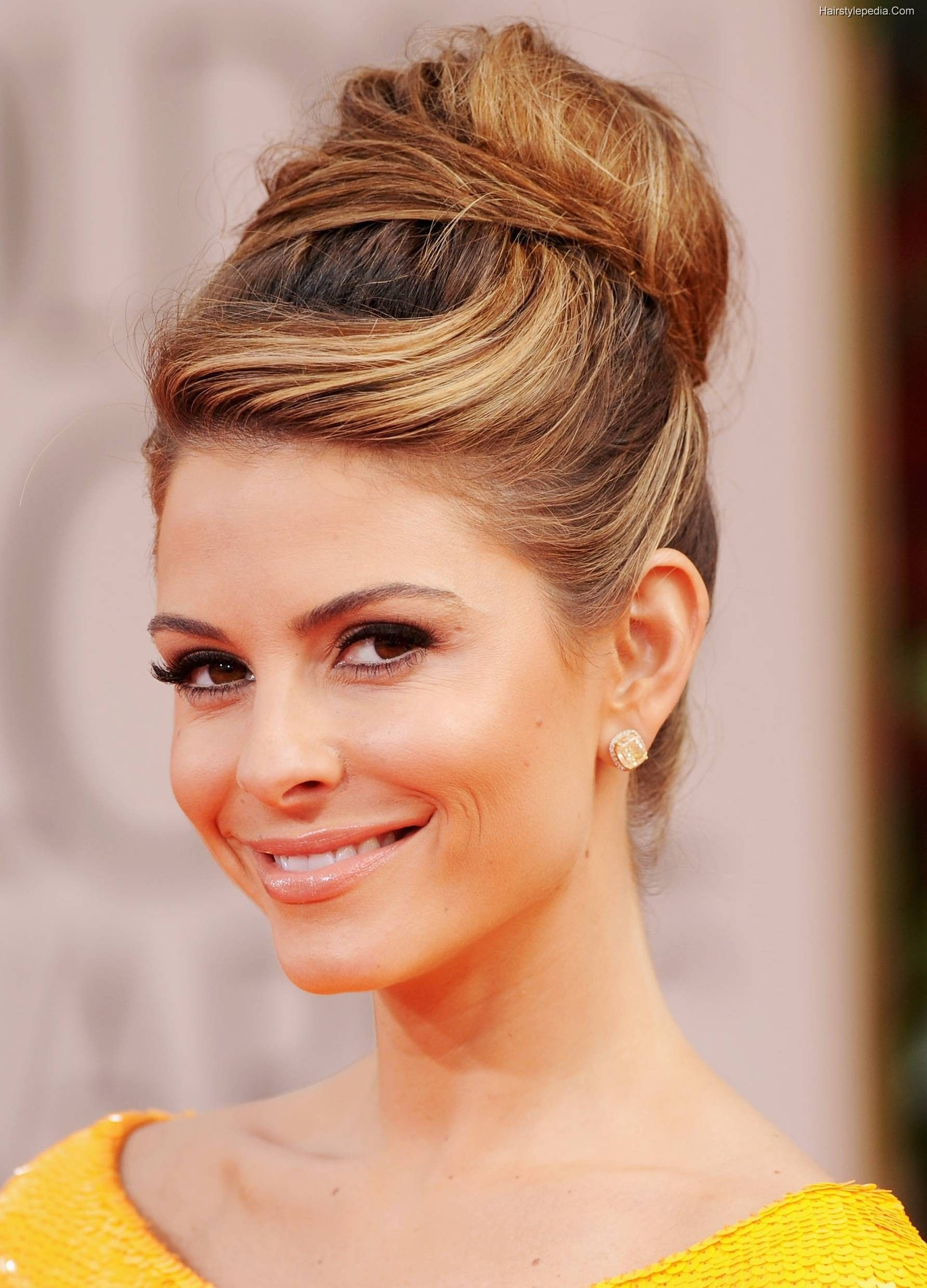 High Bun Hairstyles Bun Hairstyles Ideas For Special Occasions  Bun Hairstyle