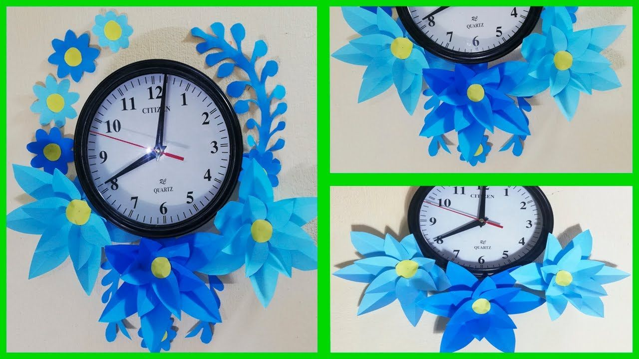 Paper Flowers Wall Decor Ideas Room Decor Ideas Handicraft