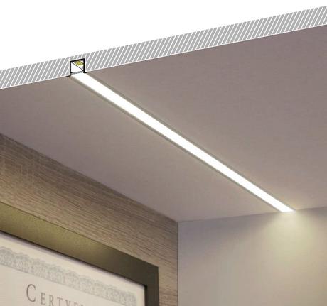 profilo led smartin10 Illuminazione led soffitto