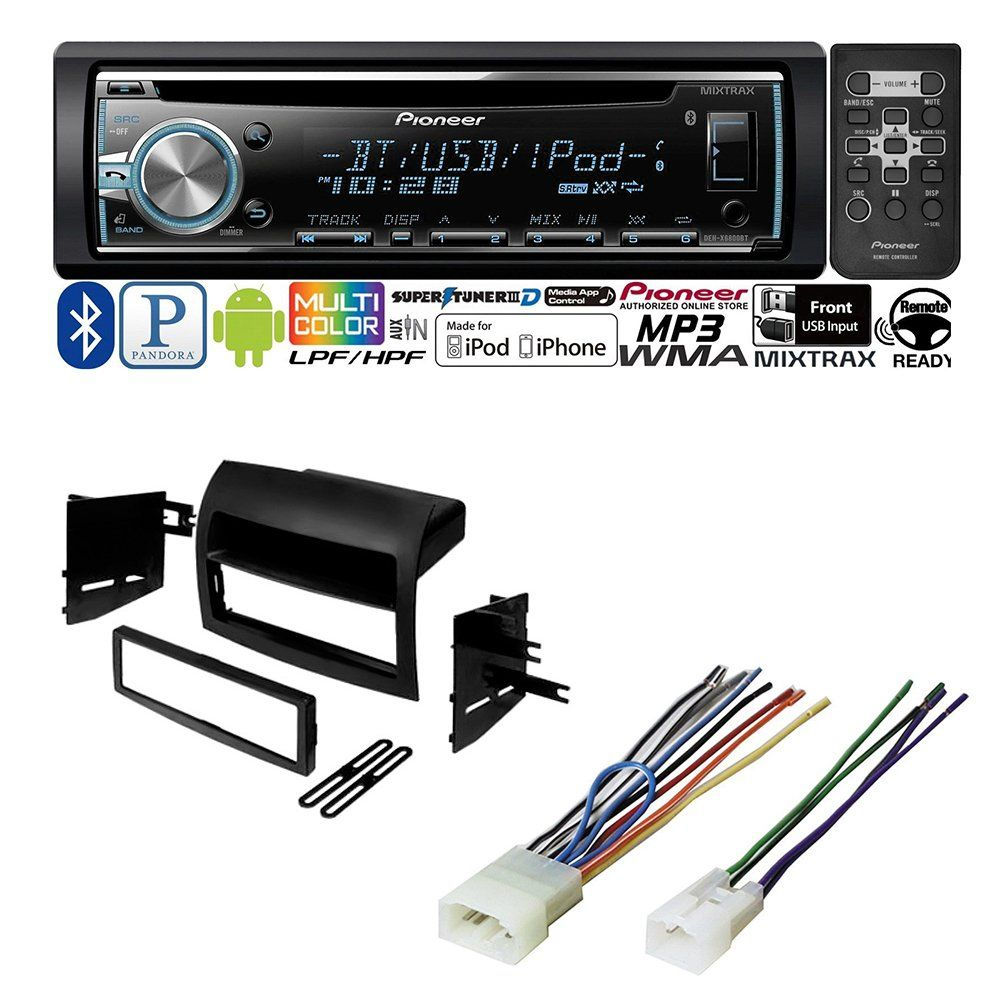 small resolution of toyota sienna 2004 2010 car stereo radio dash installation mounting kit w wiring harness