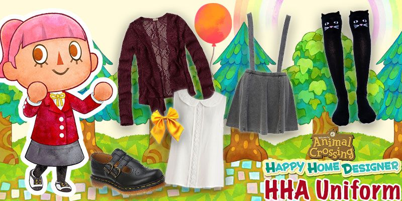 Happy Home Academy Uniform Animal Crossing Yayomg Academy Uniforms Happy Home Designer Uniform