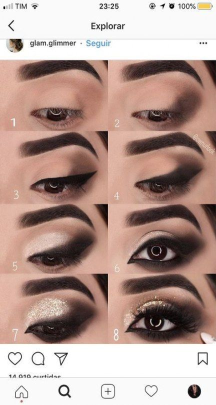 37 Trendy makeup tutorial for beginners eyebrows shape -  Makeup tutorial for beginners - #beginners #Eyebrows #Makeup #Makeuptutorialforbeginners #Shape #Trendy #tutorial #EyeMakeupWinter