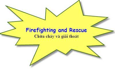 Phòng cháy chữa cháy tiếng anh là gì?