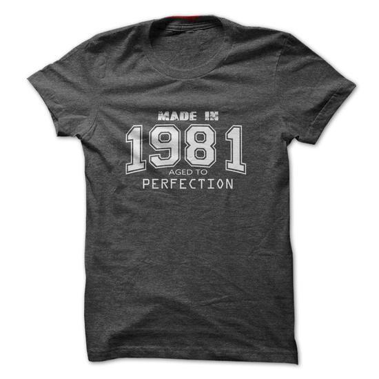 made in 1981 All Original T Shirts, Hoodies, Sweatshirts. CHECK PRICE ==► https://www.sunfrog.com/Birth-Years/Made-in-1981-4110611-Guys.html?41382