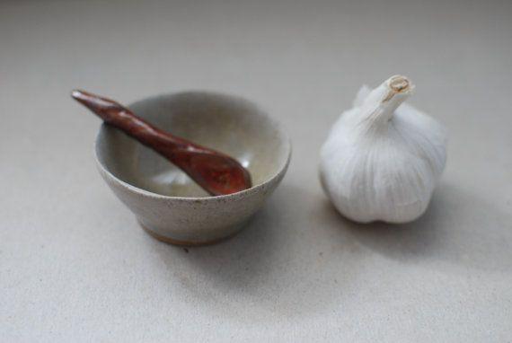 sugar bowl salt cellar spice rack small bowl sauce by GattiShop