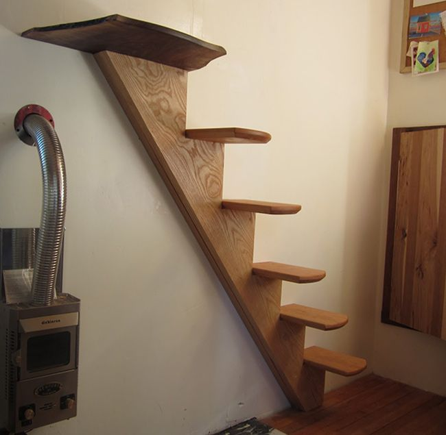 Steps And Ladder Ideas For Your Tiny House | Sacred Habitats
