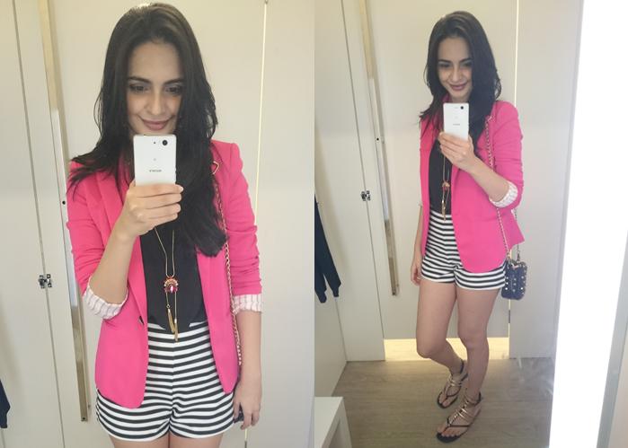 Ponto K | Karla Diniz: Blazer + Short, Pode?