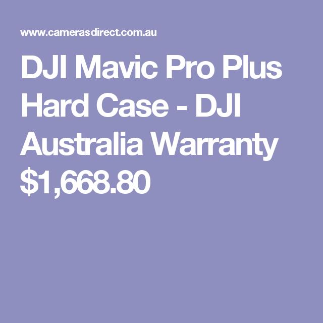 DJI Mavic Pro Plus Hard Case - DJI Australia Warranty  $1,668.80