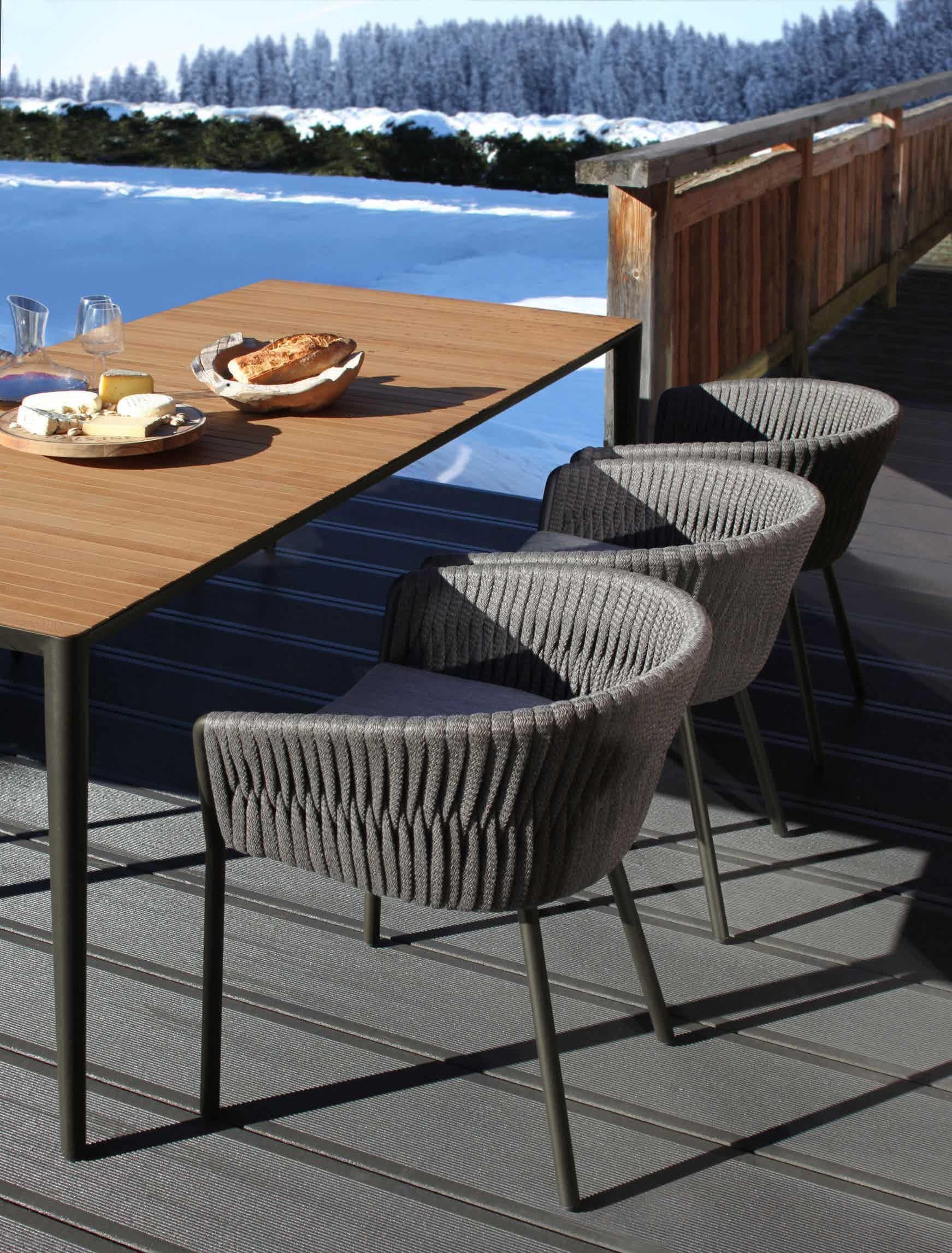 Twist Garden Chair By Royal Botania Luxury Outdoor Furniture Royal Botania Contemporary Furniture Design