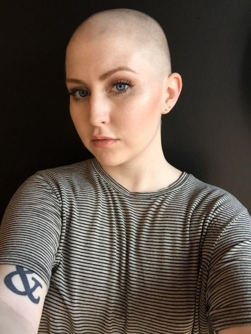 Females with Shaved Heads