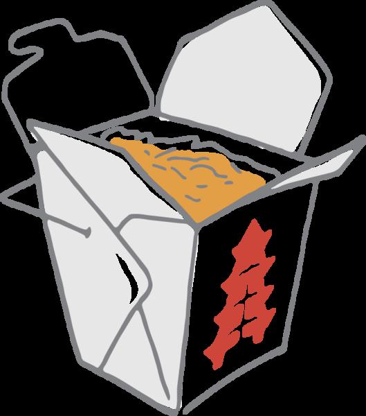 558 Chinese Take Out Food Chinese Take Out Food Clipart Clip Art