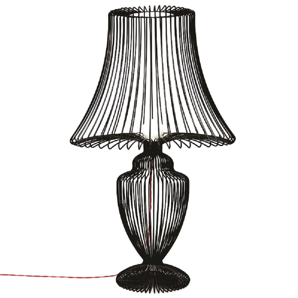 Black wire table lamp by deadgood studio decor that i love black wire table lamp by deadgood studio geotapseo Image collections