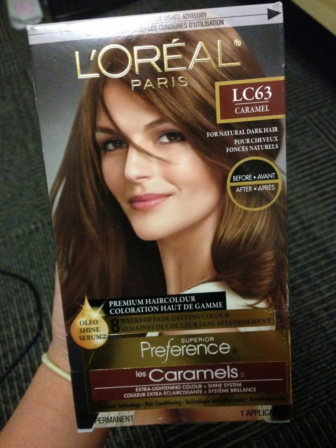 Loreal Caramel Hair Color Review Best Color Hair For Hazel Eyes