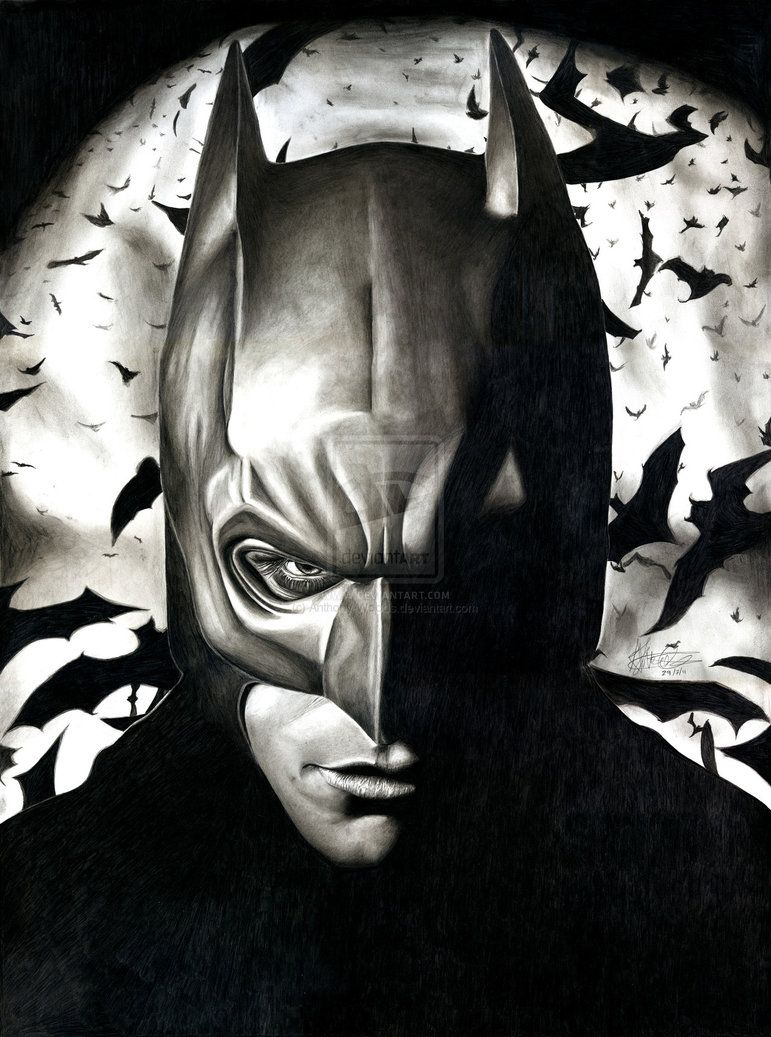 Batman by Anthony-Woods