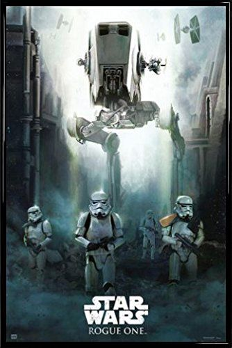 Star Wars Poster and Frame Plastic  Rogue One Stormtroopers 36 x 24 inches *** To view further for this item, visit the image link.