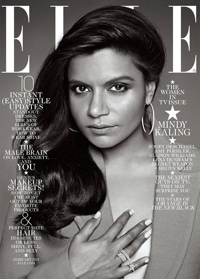 "ELLE Addresses ""That"" Mindy Kaling Cover #Refinery29"