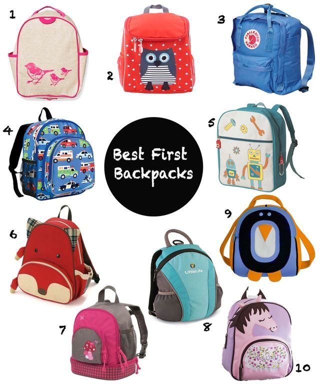 06ebbcf68fae Buying your child s first backpack is a rite of passage. Here are 10 for small  kids that are big enough to carry the essentials without overloading them.