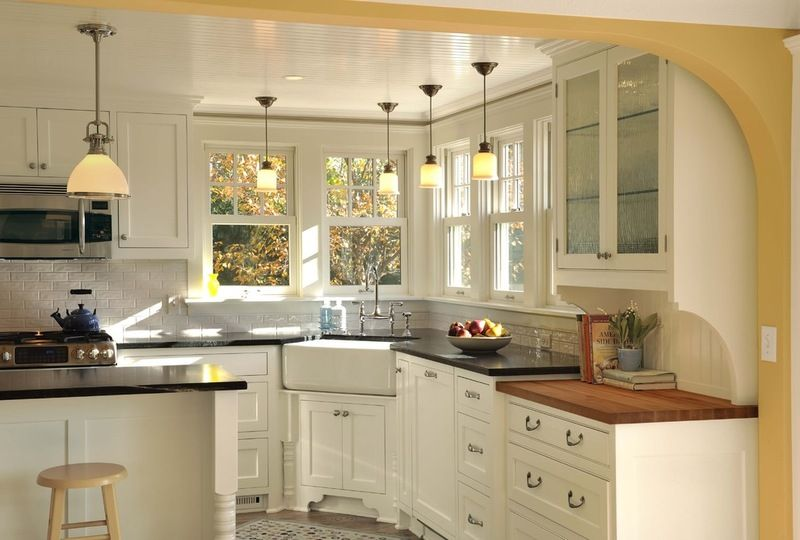 traditional kitchen by Lake Country Builders SP project Pinterest - modelos de cocinas