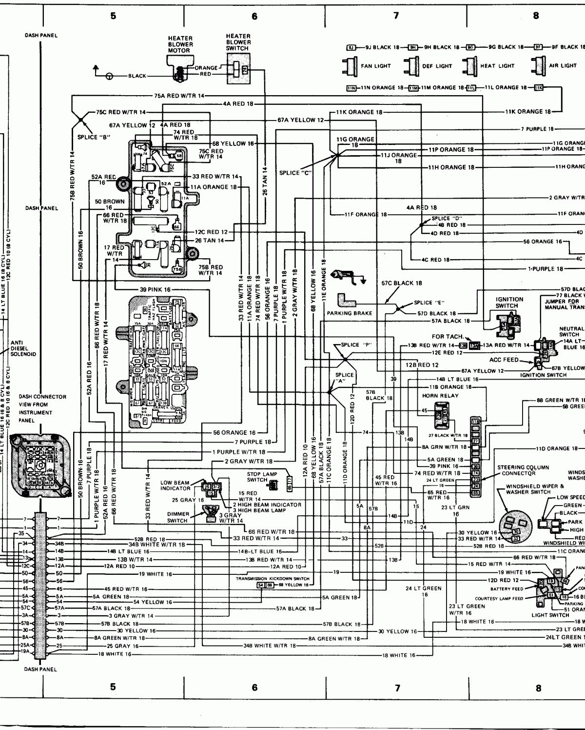 12  1978 Chevy Truck Fuse Box Diagram