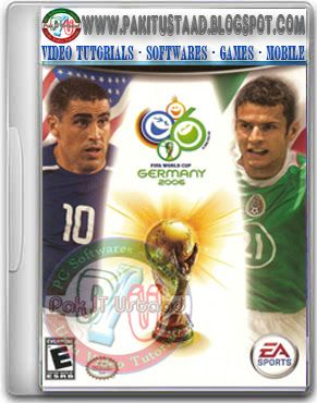 Fifa World Cup 2006 Pc Game Cover Pc Games Download Gaming Pc Download Games