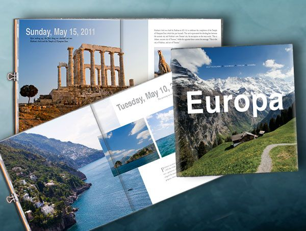 Europa Is A Beautiful Coffee Table Book We Recently Designed For