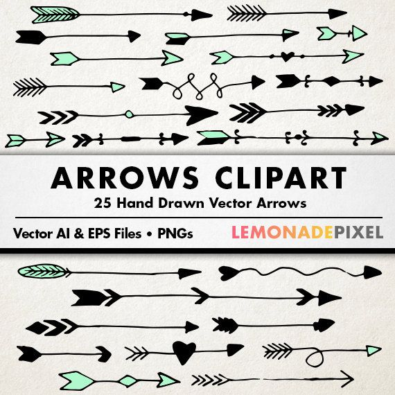 Arrows clipart hand drawn clip art tribal arrows art element arrows clipart hand drawn clip art tribal arrows art element wedding clipart diy invitation text dividers blog website art stopboris