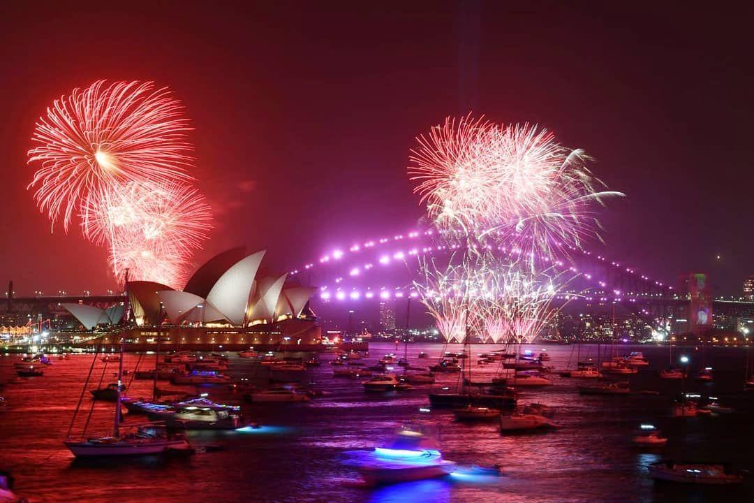 Está foto es en Sidney Australia celebrando ya el primer