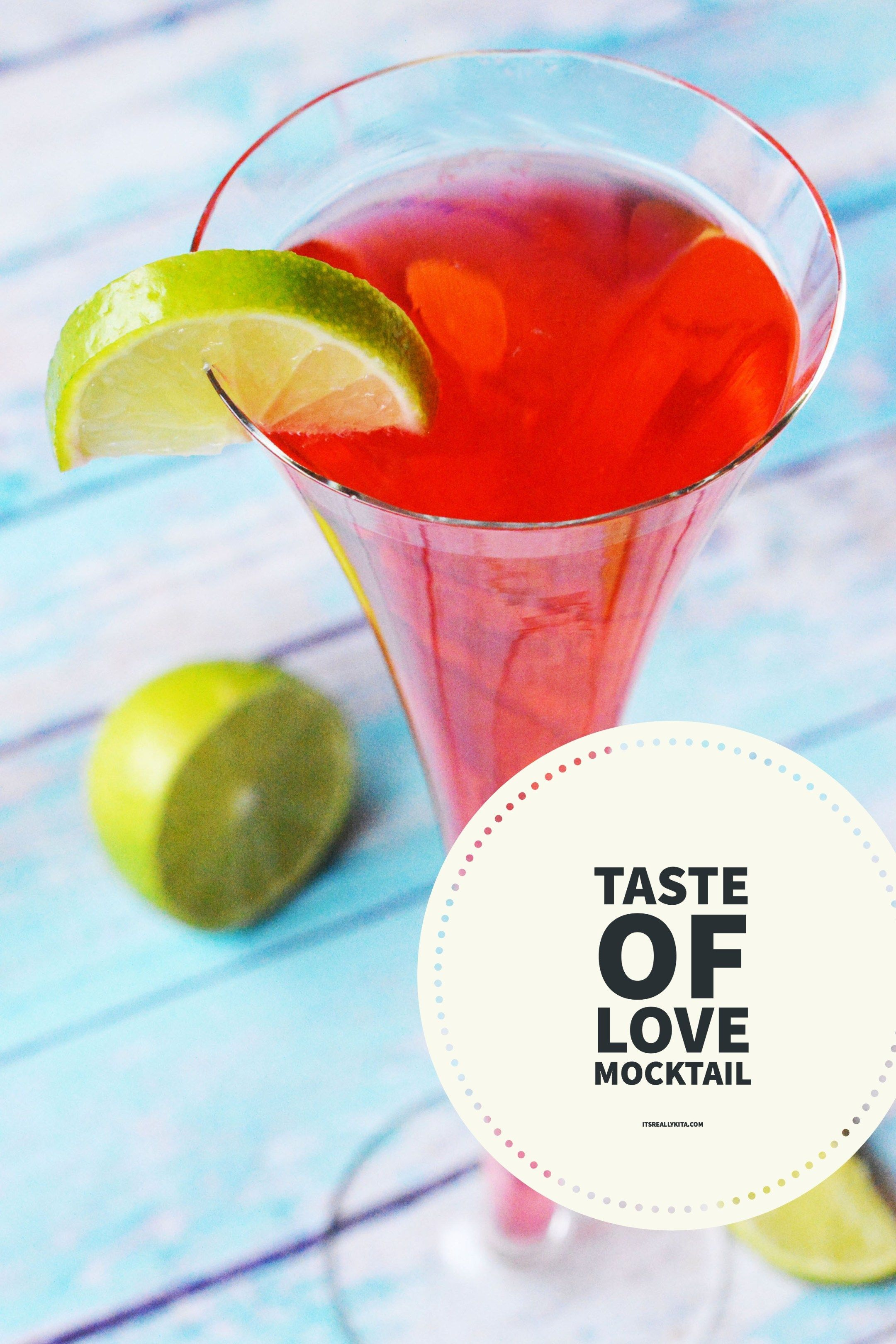 Taste Of Love Mocktail