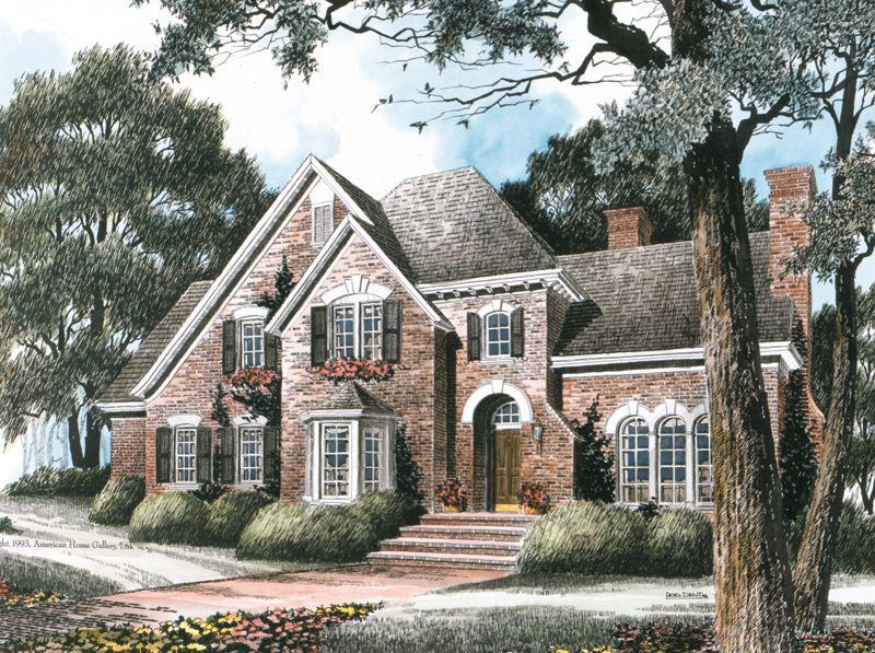 Love House Plan Berwicke Stephen Fuller Inc