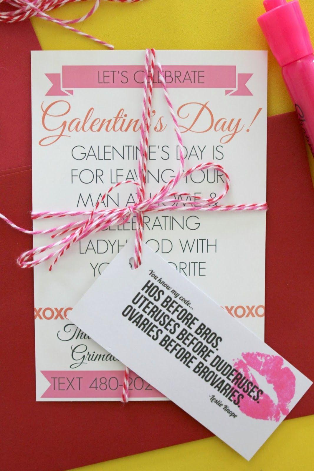 Make Galentine's Day Invitations! | Be Mine in 2019 ...