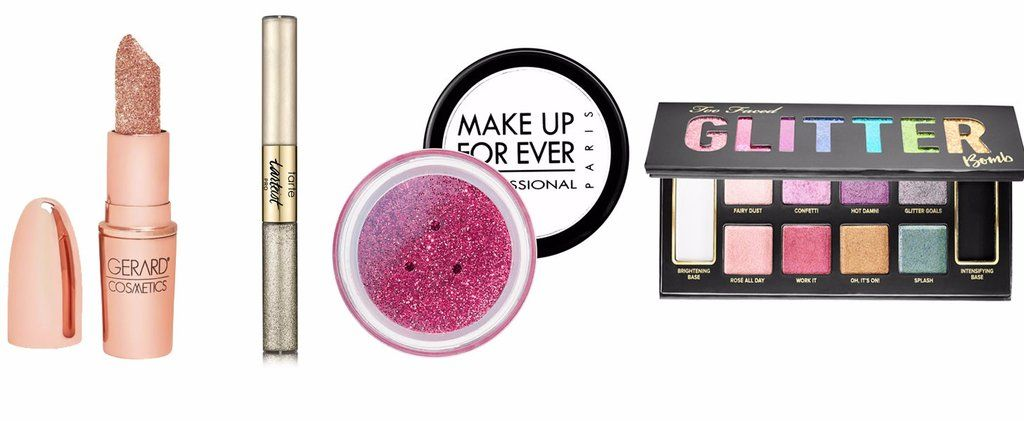 50 glitter makeup products thatll make your face sparkle