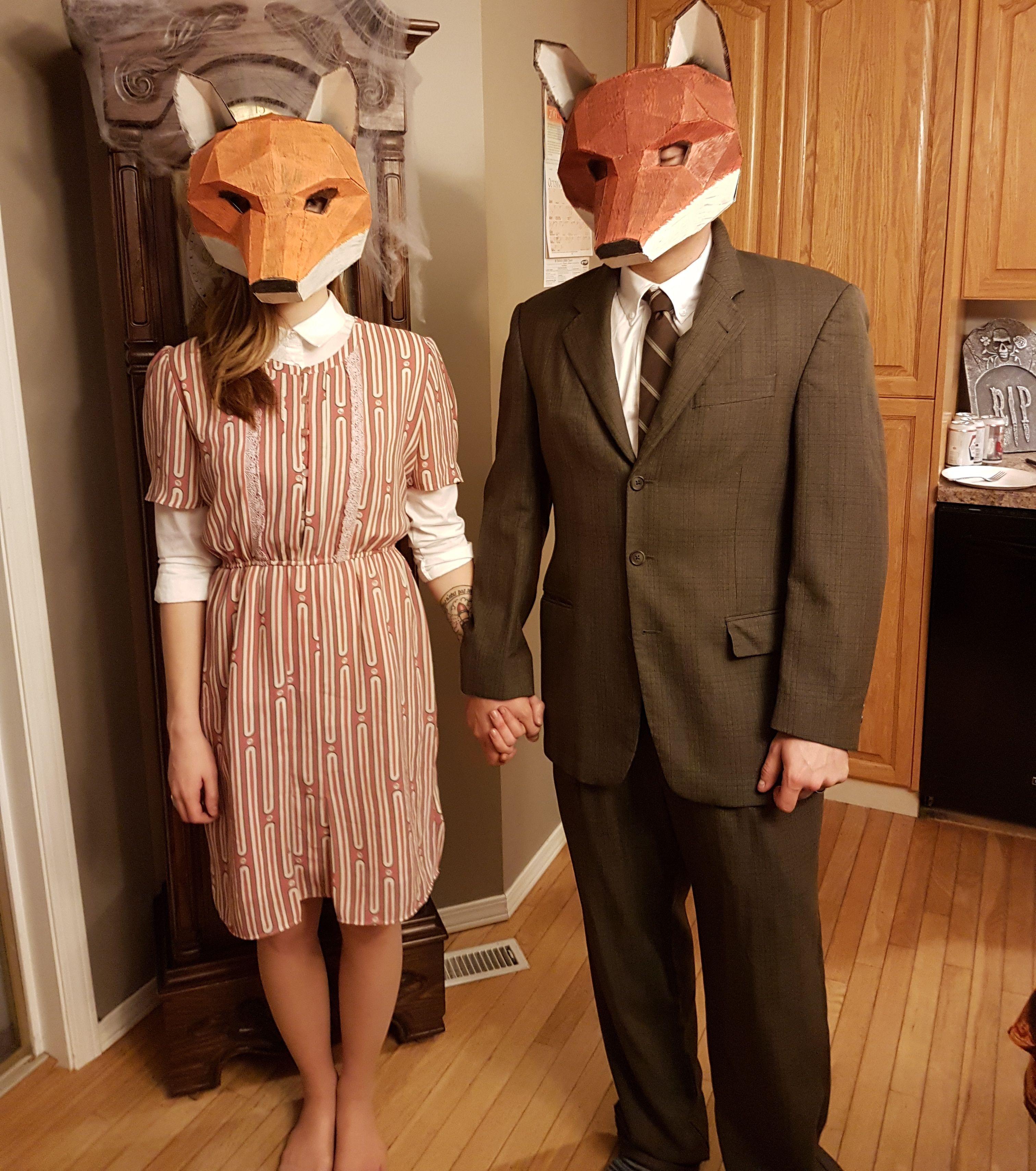 Mr and Mrs Fantastic Fox costume - Imgur